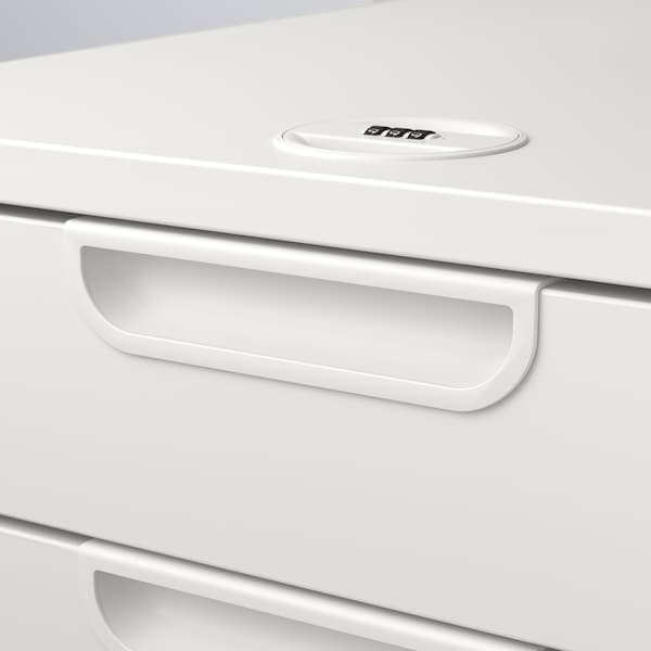 """GALANT Drawer unit on casters, white, 17 3/4x21 5/8 """""""