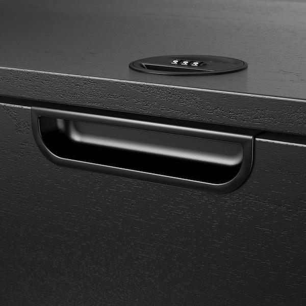 "GALANT drawer unit black stained ash veneer 31 1/2 "" 17 3/4 "" 31 1/2 """