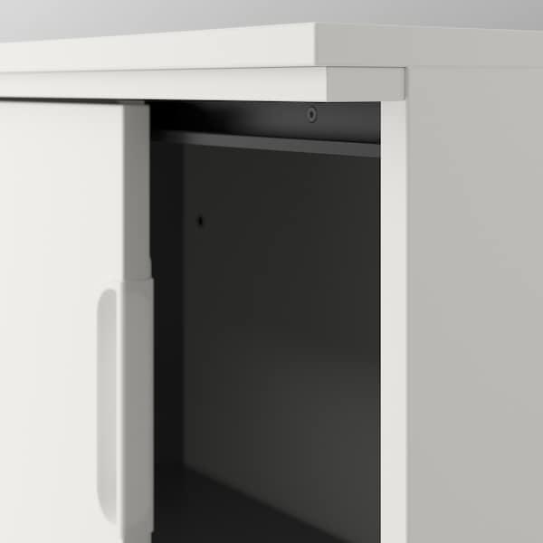 "GALANT Storage combination w sliding doors, white, 63x78 3/4 """