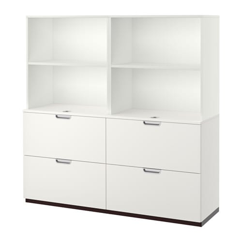 Ikea Galant Open Storage Combination ~   computers  GALANT BEKANT system Office storage & drawer units