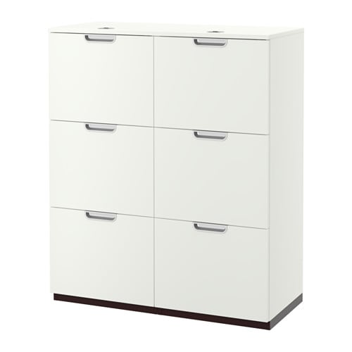Ikea Trofast Wooden Shelves ~ GALANT Storage combination with filing IKEA 10 year Limited Warranty