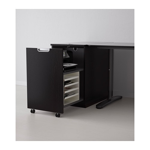 ikea galant storage unit for printer. Black Bedroom Furniture Sets. Home Design Ideas