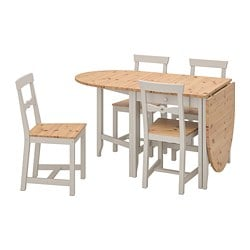 Outstanding Dining Sets With 4 Chairs Ikea Beutiful Home Inspiration Ommitmahrainfo