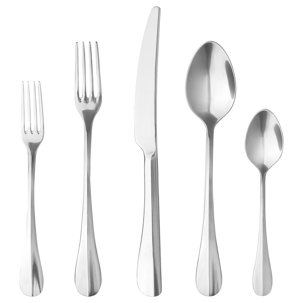 GAMMAN 20-piece flatware set, stainless steel