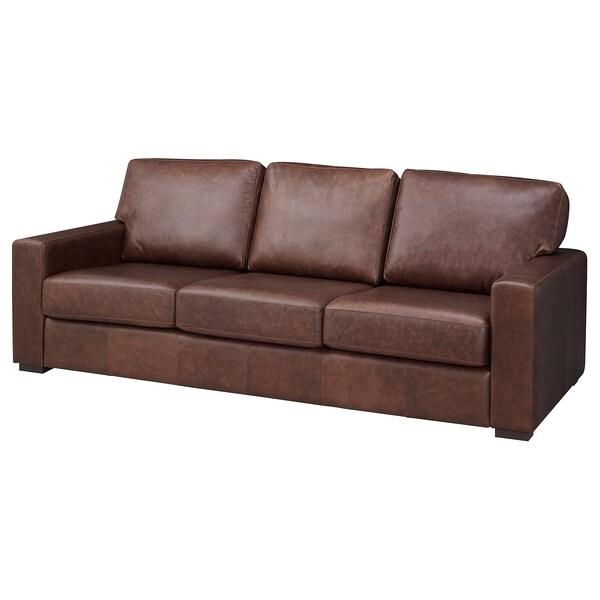 Awesome Sofa Genevad Garlinge Dark Brown Andrewgaddart Wooden Chair Designs For Living Room Andrewgaddartcom