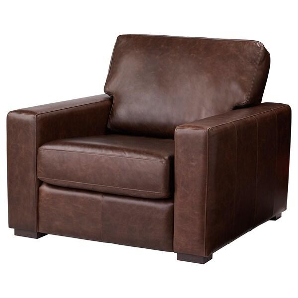 Remarkable Armchair Genevad Garlinge Dark Brown Short Links Chair Design For Home Short Linksinfo