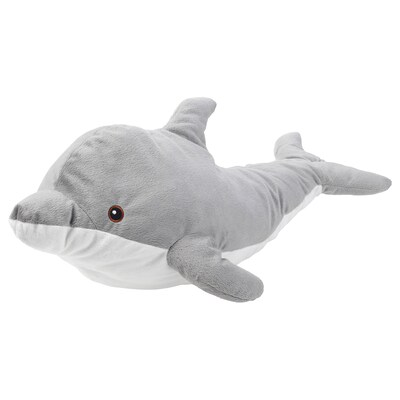 "GENOMBLÖT soft toy dolphin 27 ½ "" 12 ¼ """