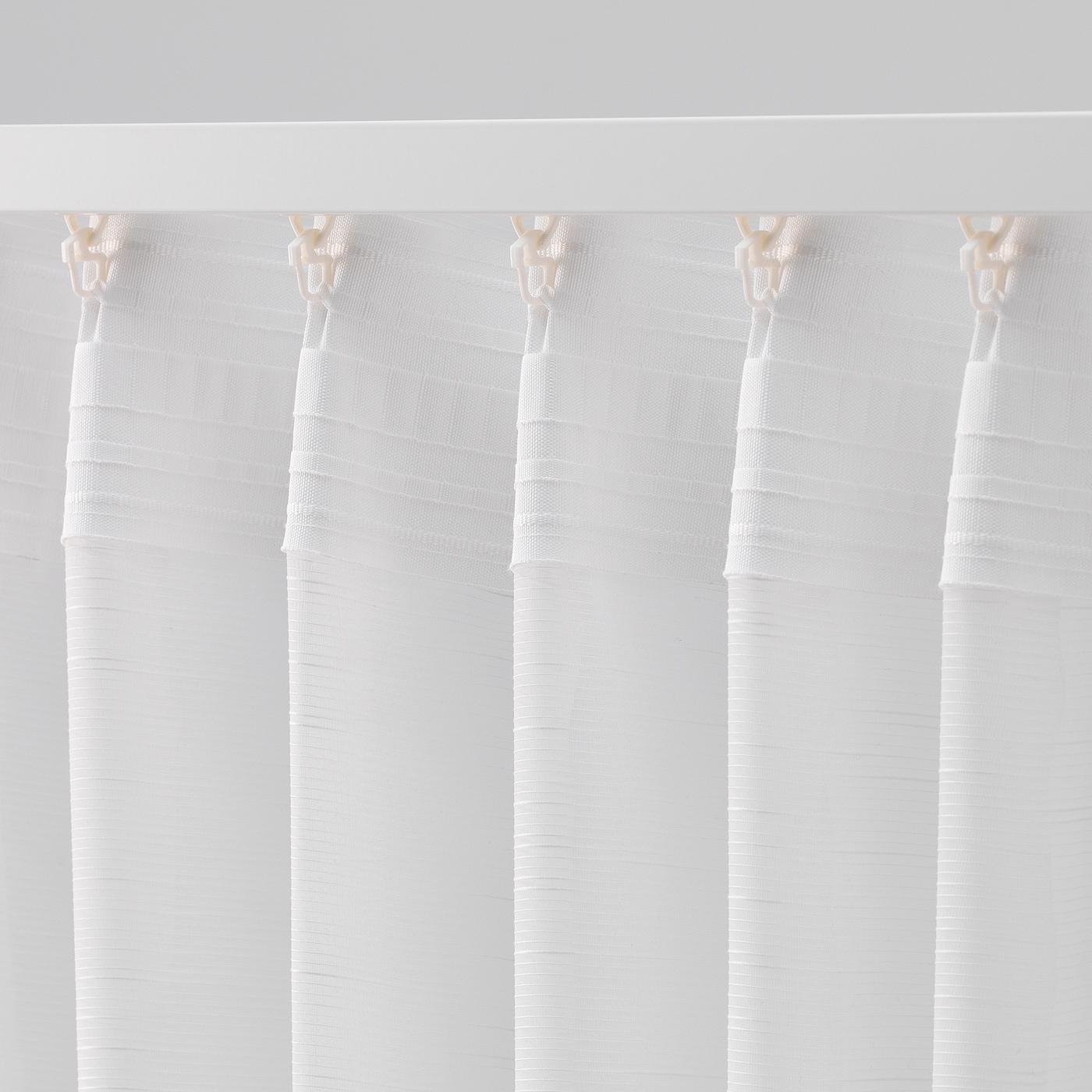 Gjertrud Sheer Curtains 1 Pair White 57x98 Ikea