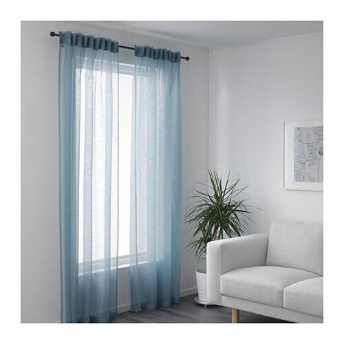 gjertrud sheer curtains 1 pair ikea