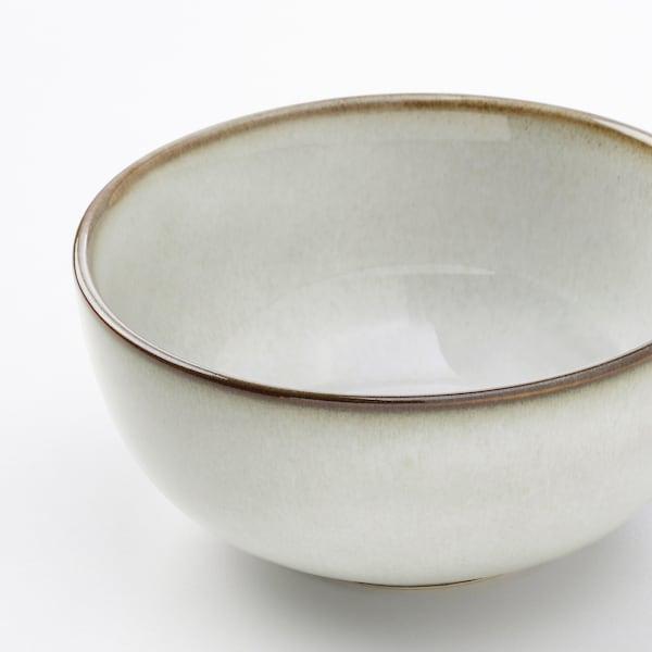 """GLADELIG Bowl, gray, 4 ½ """""""