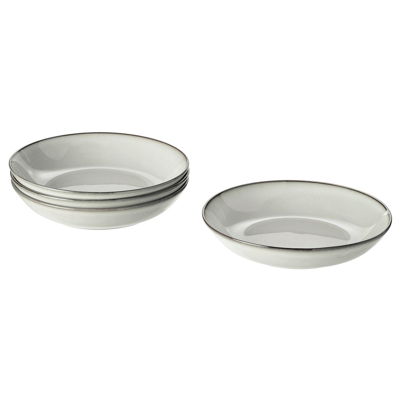 2 Restaurant or Home Aluminium Metal Bowl Dish Plates