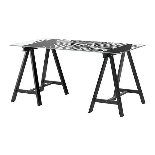 glasholm oddvald table ikea. Black Bedroom Furniture Sets. Home Design Ideas