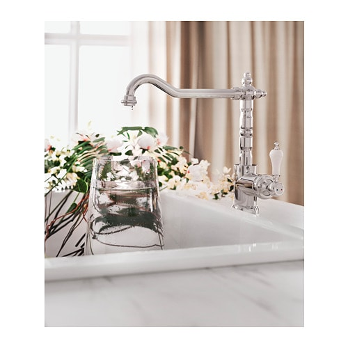 GLITTRAN Kitchen faucet IKEA 10-year Limited Warranty.   Read about the terms in the Limited Warranty brochure.