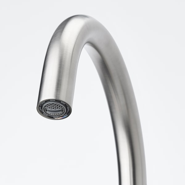 GLYPEN Kitchen faucet, stanless steel effect