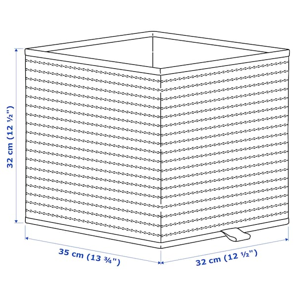 "GNABBAS Basket, 12 ½x13 ¾x12 ½ """