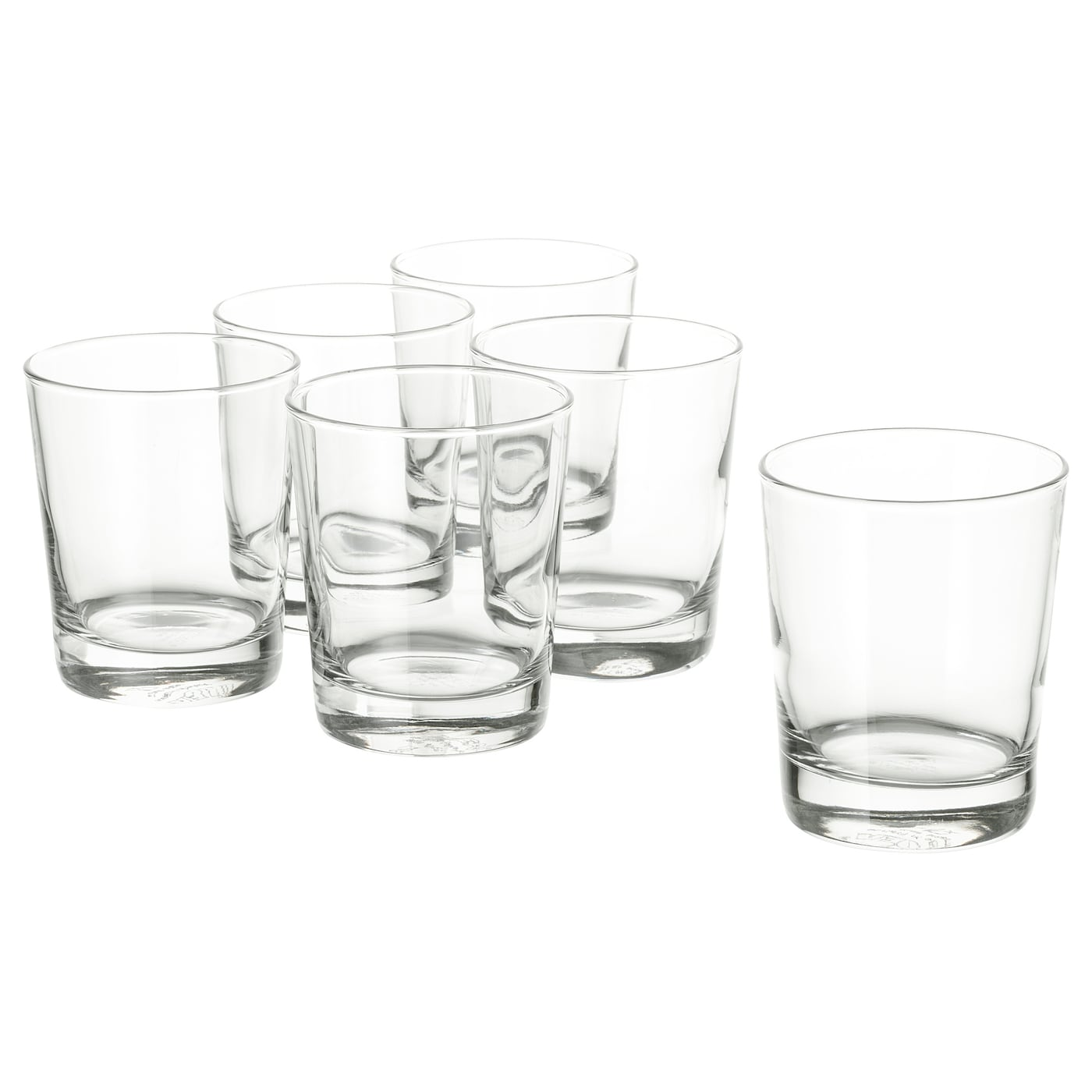 clear glass H: 4 GODIS Glass X6 IKEA