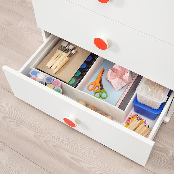 """GODISHUS 3-drawer chest, white, 23 5/8x25 1/4 """""""