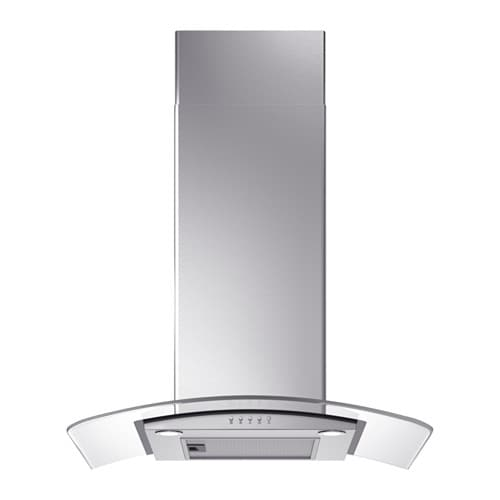 GODMODIG Wall mounted extractor hood, Stainless steel