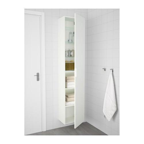 GODMORGON High cabinet - white - IKEA