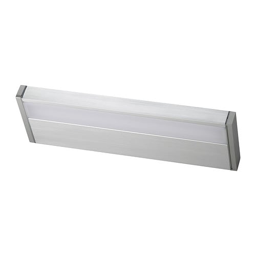 Domsjo Ikea Sink Installation ~ GODMORGON LED cabinet wall light IKEA Provides an even light that is