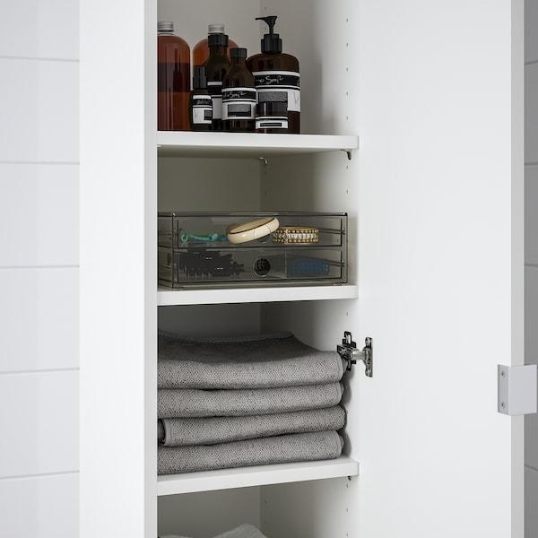 "GODMORGON Mini chest with 2 drawers, smoked, 9x7 ½x3 ½ """