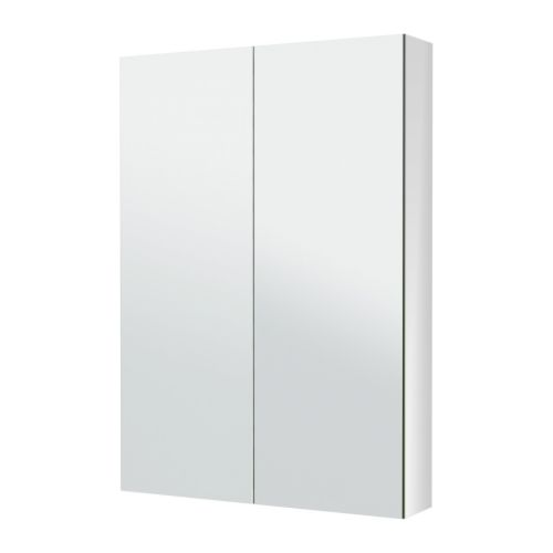 Godmorgon mirror cabinet with 2 doors 31 1 2x5 1 2x37 3 for Porte miroir ikea