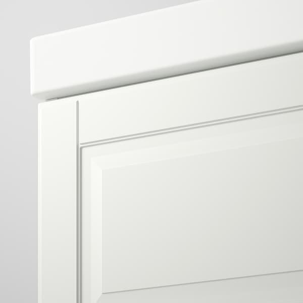 "GODMORGON / ODENSVIK Sink cabinet with 2 drawers, Kasjön white/Hamnskär faucet, 40 1/2x19 1/4x25 1/4 """