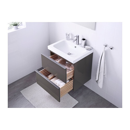 GODMORGON / ODENSVIK Sink Cabinet With 2 Drawers   White   IKEA