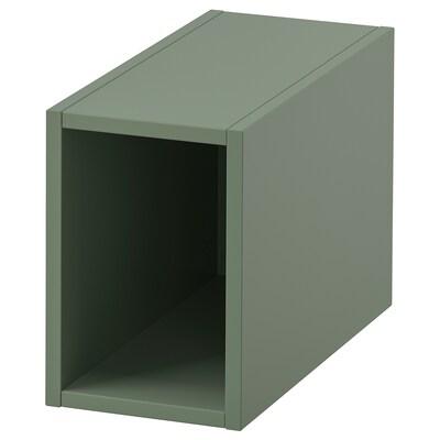 "GODMORGON Open cabinet, Gillburen gray-green, 7 7/8x17 3/4x11 3/8 """