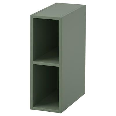 "GODMORGON Open cabinet, Gillburen gray-green, 7 7/8x17 3/4x22 7/8 """