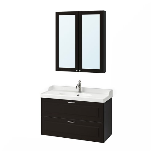 IKEA GODMORGON / RÄTTVIKEN Bathroom furniture, set of 4