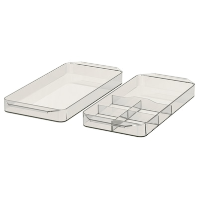 GODMORGON Storage unit, set of 2, smoked