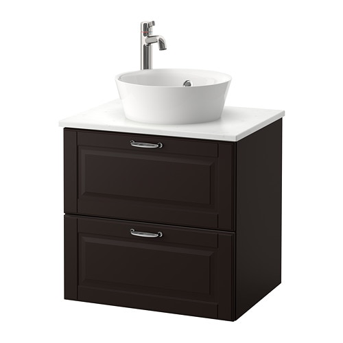 Godmorgon Tolken Kattevik Sink Cabinet With Top 15 Sink Ikea