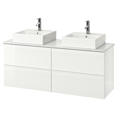 """IKEA GODMORGON/TOLKEN / TÖRNVIKEN Vanity, countertop and 17 3/4"""" sink"""