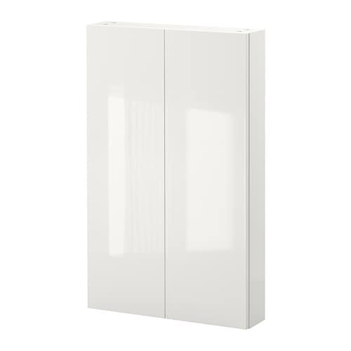 Bathroom furniture ideas ikea for White gloss kitchen wall cupboards