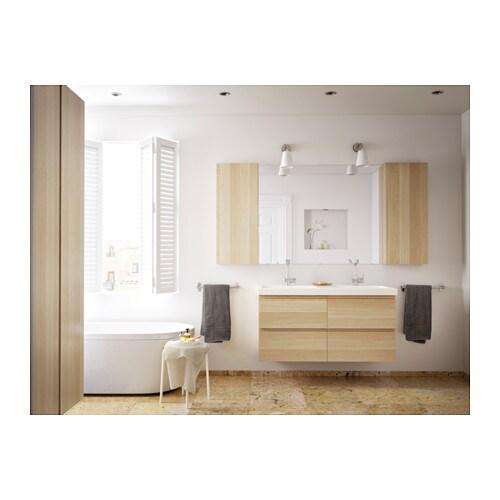 Ikea Bathroom Godmorgon godmorgon wall cabinet with 1 door - black-brown - ikea