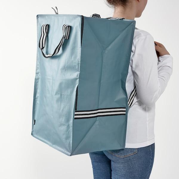"GÖRSNYGG Bag, blue, 15 ¾x11 ¾x23 ½ ""/19 gallon"