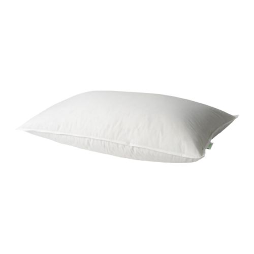 GOSA PINJE Pillow, side sleeper IKEA A high feather pillow for those who prefer sleeping on their side.