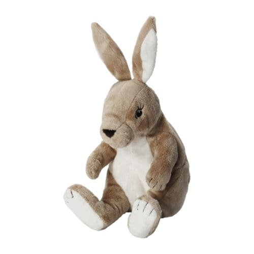 GOSIG KANIN Soft toy IKEA All soft toys are good at hugging, comforting and listening and are fond of play and mischief.