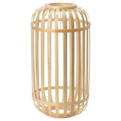"GOTTORP pendant lamp shade bamboo 18 "" 9 """