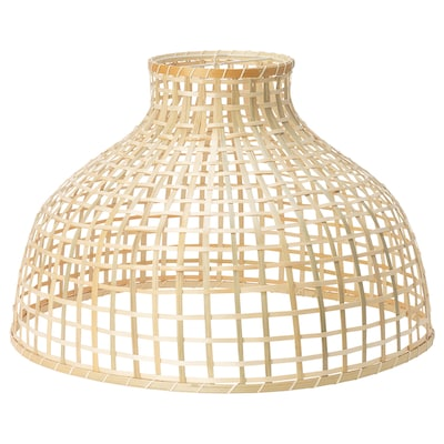 "GOTTORP pendant lamp shade bamboo 15 "" 22 """