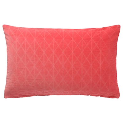 GRACIÖS Cushion cover, pink, 16x26 ""