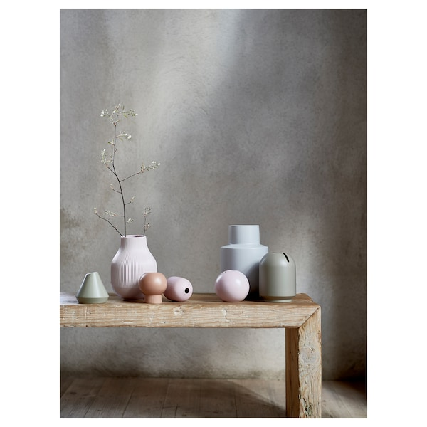 "GRADVIS Vase, pink, 8 ¼ """