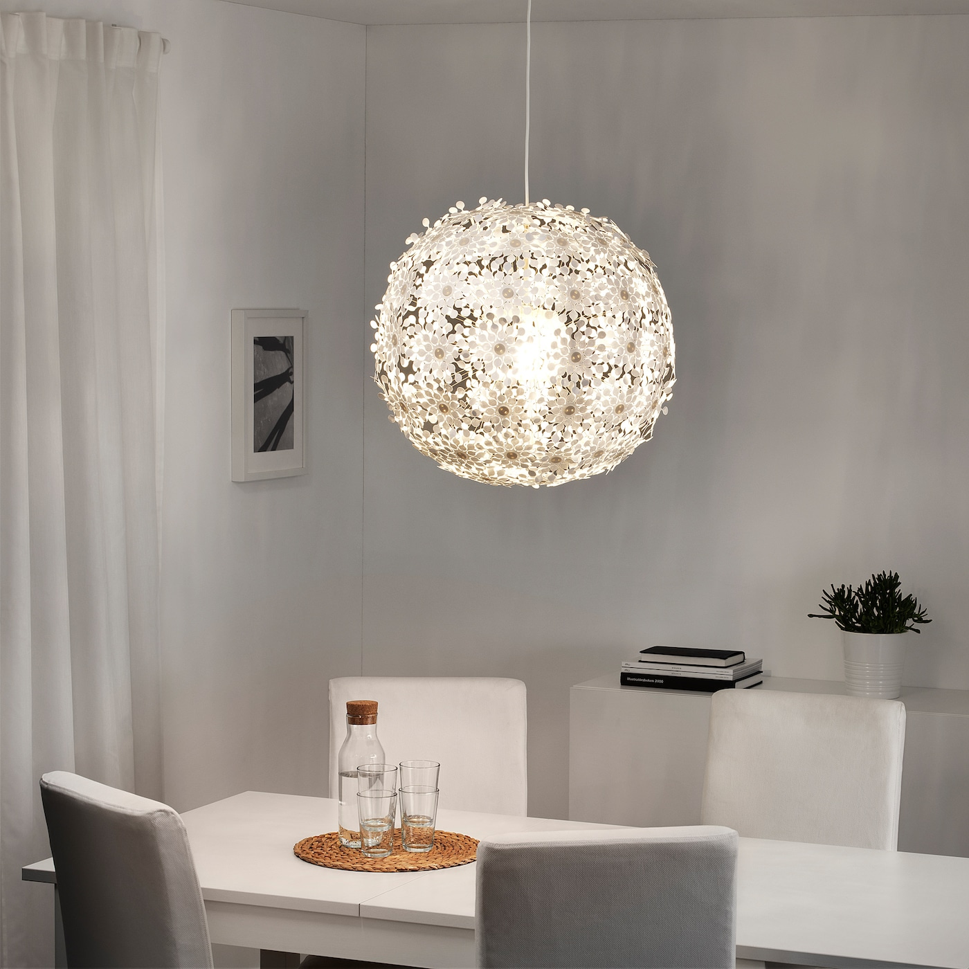 Grimsas Pendant Lamp White 22 Ikea