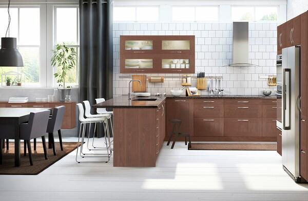 """GRIMSLÖV Door, brown, 15x15 """""""