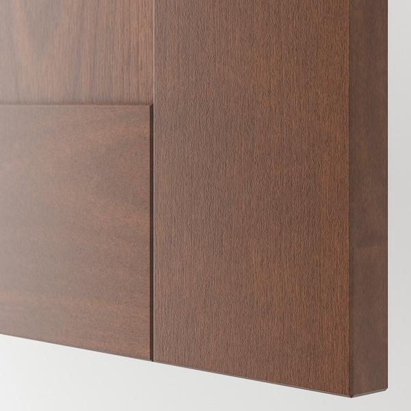 """GRIMSLÖV Drawer front, brown, 24x15 """""""