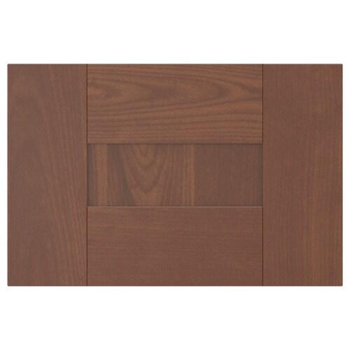 """GRIMSLÖV drawer front brown 14 7/8 """" 10 """" 15 """" 9 7/8 """" 3/4 """""""
