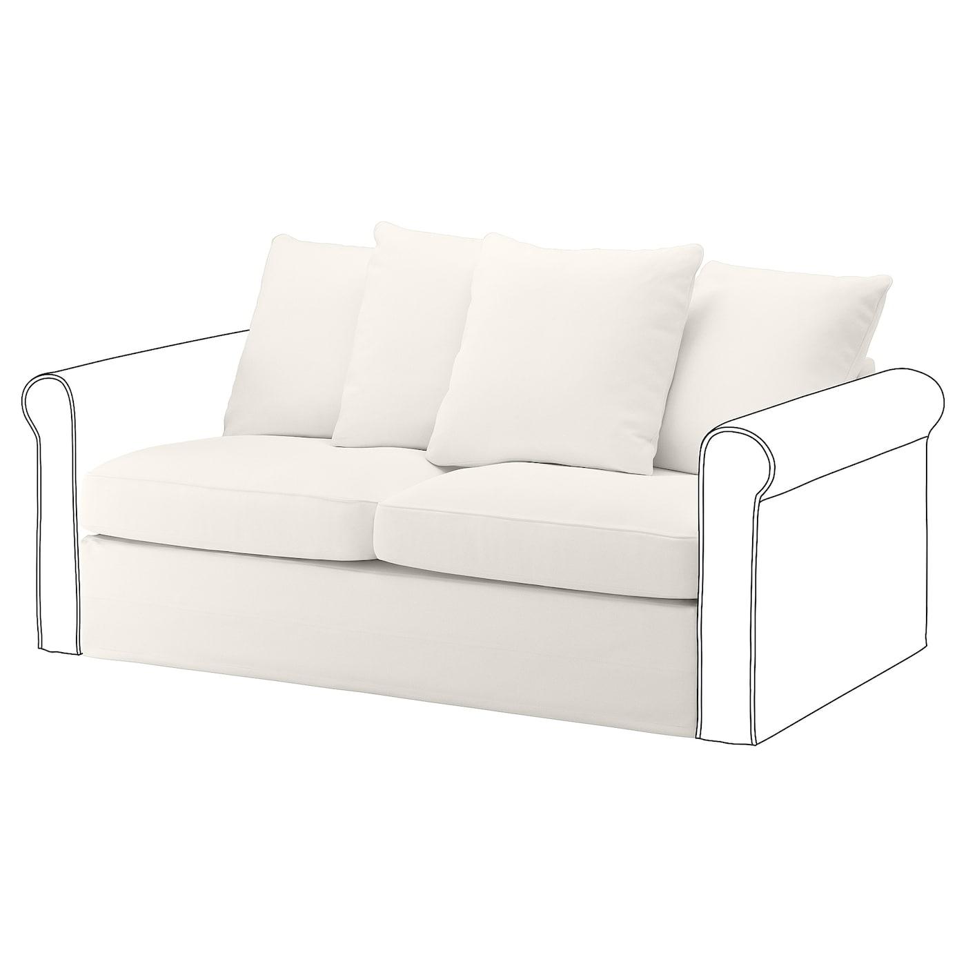 - GRÖNLID Loveseat Sleeper Section, Inseros White - IKEA