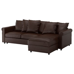 Cover: With chaise/kimstad dark brown.
