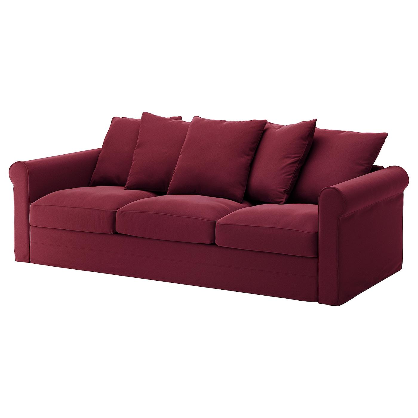 GrÖnlid Sofa Ljungen Dark Red Ikea